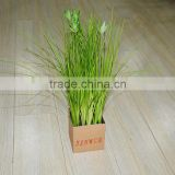 Onion Grass Cheap Artificial Polyester Orchid Flower Wholesale