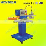 one color socks printing machine for heel/non-slip logo/silicone ink