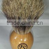 Customer Logo Wood Handle Men Shaving Brush, Shaving Brush, Shaving Brush Stand Set, Safety Razor Brush, Badger Shaving Brush