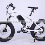 20 inch fat tire suspension front fork snow electric bicycle mountain bike