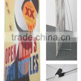 Various Shape Stand Pop Up L Banner for Advertising with Aluminum Pole