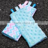 2016 100% Cotton Cuddle Soft Minky Opal Blue Baby Drool Pad for Carrier                                                                         Quality Choice
