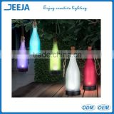 Home Decoration Solar Powered LED Color Changed Glass Bottle Light (use in garden beach park...)