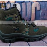 2015 new style army green camouflage military tactical boots for sale