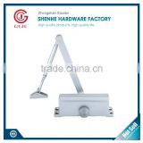 high quality aluminium hydraulic adjusting stopper door closer in door