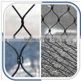 CE certificated stainless steel black oxidized zoo mesh                                                                                                         Supplier's Choice