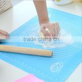 Silicon Baking Mat for Dough Rolling with Measurements (30x40cm) Non Stick,Non Slip,Pizza,Breads,Lasagna silicone baking mat
