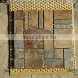 outdoor slate stepping stone,decorative cultured stone, slate price