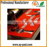 AY Rubber Bar Rail Mat Factory, Custom Size Bar Runner Used For Promotion Gifts, Advertising