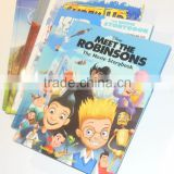 Cartoon Child Book with DVD Replication Packaging Service