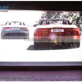 P10.416 transparent led screen for shopping mall advertising and decoration