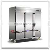 R175 Tube Style Static Cooling Reach In Kitchen Freezer And Refrigeration Equipment