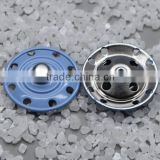 chinese garment factory blue color plastic snap buttons