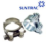 INquiry about Single solid T-bolt heavy duty high pressure Europe type Robust Super hose clamp