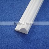 PVC Vinyl Plastic Skirting Board and Architraves Profiles for Door & Floor Vinyl Decoration Accessories Suppliers