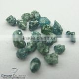 Excellent Quality 1.00 Mm to 10.00 Mm Natural Loose Greenish Blue Rough Diamond Drlled Beads