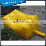 Yellow color big rescue air cushion / inflatable lifesaving air bed from China