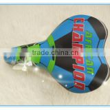 Latest fashional design football cartoon image comfortable bmx bicycle saddle for sale low price