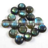 15 mm Labradorite Cabochon Round, Top Quality Natural Loose Gemstone Calibrated Cabochons
