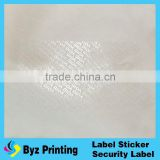 hot sale Scratch off sticker / Adhesive scratch off label for telecom cards and paper in Lidun brand