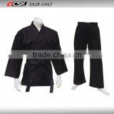 100% Cotton BJJ GI GX9637 Black Color