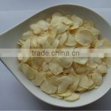 Standard quality pure white dehydrated garlic flakes