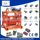 QTj4-40 concrete block machinery industry equipment ,construction brick machine ,brick concrete machine