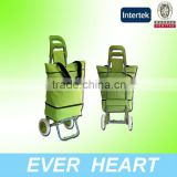 Wire World Daphne Comfortable Folding Rolling Wheeled Supermarket Holder Trolley Shopping Bag cart