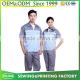 New Design High Quality Factory Working Uniform Summer Short Sleeves Durable Worker Unifrom