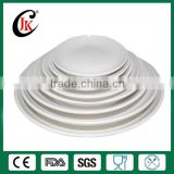 Hotel used dinner plate white porcelain dinner plate wholesale restaurant dinner plate for wedding