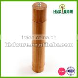 Natural bamboo pepper and salt grinder, pepper salt set