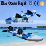 Blue Ocean fishing kayaks for sale 2+1/ kayaks with electric trolling motor for sale 2+1