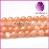 High quality natural sunstone round loose beads