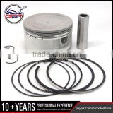 80MM 18MM Piston Ring Kit for VOG LINHAI YP VOG 400cc Tank Touring JCL Buyang Gsmoon ATV Buggy Scooter Parts