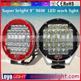 9 Inch 96W Cr ee LED Driving Lights offroad led work light Spot/Flood Light Cr ee 9'' 96W