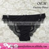 Lace Panties Product Type and Low Cut Panties Type hot sexy women lace transparent g-string