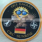 embroider machine cloth woven patch/badge