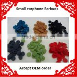 Free shipping 18mm Purple Blue Green Black White Yellow Disposable Foam Earbud Cover Earphone Foam Sponge Cushion 10000pcs/lot