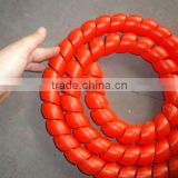 colorful sprial guard/hose protector for rubber hose