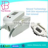High Quality shr ipl hair removal machine pain free 2015 shr ipl hair removal manual