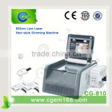 CG-810 2015 most advanced diode lipo slimming lipo laser weight loss machine with factory price