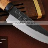 Japanese buy swords hatchet with double-edged blade