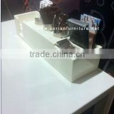 Mcdonald's restaurant acrylic solid surface coffee selling counter