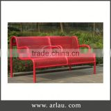 Arlau China Metal Backless Chair,Metal Bench Manufacturing,Antique Cast Iron Garden Bench