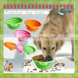 2014 Collaspible Silicone Dog Bowl