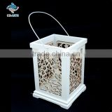 Latest design antique imitation white wood carving crafts
