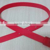 eco-friendly colorful Silicon Waist Belt for USA market