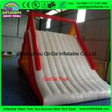 Amusement park 7.5m long inflatable triangle water slide, inflatable climbing slide for swimming pool