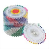 480pcs/Set Multi Colour Round-Head Fau Pearl Decorating Pin Dressmaking Sewing Pin Craft Tool