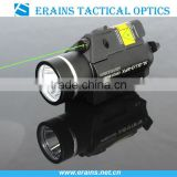 Tactical quick start green laser sight scope and strobe 200 lumen CREE Q5 LED light combo